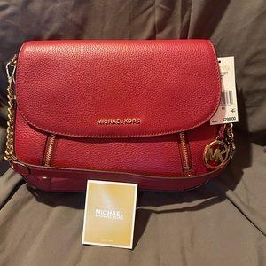 Berry Michael Kors Bedford Legacy Shoulder Bag